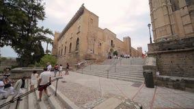 Palazzo Palma de Mallorca di Almudaina della La video d archivio