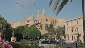 Palazzo Palma de Mallorca di Almudaina della La archivi video