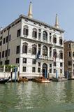 Palazzo Papadopoli, грандиозный канал, Венеция Стоковое Изображение RF