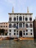 Palazzo Papadopoli 图库摄影
