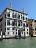 Palazzo Papadopoli royalty free stock photography