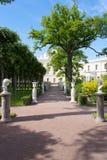 Palazzo in Pavlovsk fotografia stock