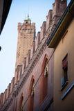 Palazzo Pepoli, Haus des Museums der Geschichte von Bologna, Italien lizenzfreie stockfotografie