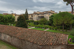 Palazzo Pfanner. Lucca. Italy. Royalty Free Stock Image