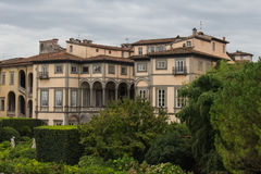 Palazzo Pfanner. Lucca. Italy. stock image