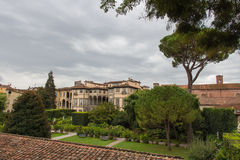 Palazzo Pfanner. Lucca. Italy. Royalty Free Stock Photo
