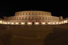 Palazzo Pitti在佛罗伦萨,托斯卡纳,意大利 库存图片