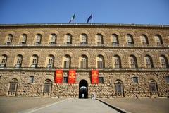 Palazzo Pitti在佛罗伦萨(托斯卡纳,意大利) 库存图片