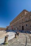 Palazzo Pitti, è un vasto pricipalmente palazzo di rinascita a Firenze Immagine Stock Libera da Diritti