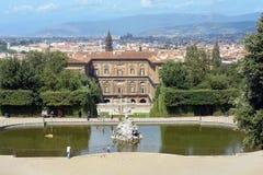 Palazzo Pitti στη Φλωρεντία - την Ιταλία Στοκ εικόνα με δικαίωμα ελεύθερης χρήσης