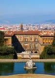The Palazzo Pitti Stock Image