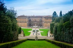 Palazzo Pitti στοκ εικόνες με δικαίωμα ελεύθερης χρήσης