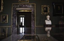 Palazzo Pitti d'intérieur Image libre de droits