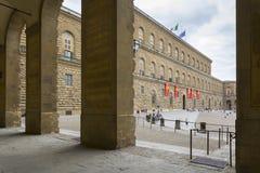 Palazzo Pitti, Florence, Italien Royaltyfria Foton