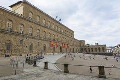 Palazzo Pitti, Florence, Italien Fotografering för Bildbyråer