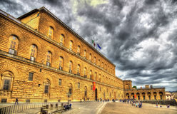 The Palazzo Pitti in Florence Stock Photo