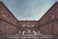 Palazzo Pitti i Florence royaltyfri bild