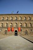 Palazzo Pitti i Florence (Tuscany, Italien) Arkivfoton