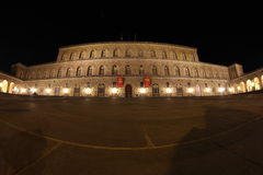 Palazzo Pitti i Florence, Tuscany, Italien Fotografering för Bildbyråer