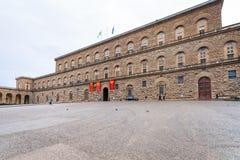 Palazzo Pitti on Piazza Pitti in Florence city Stock Photography