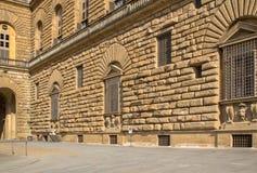 Palazzo Pitti Pitti宫殿,佛罗伦萨,意大利 库存照片