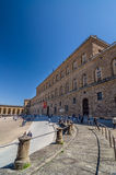 Palazzo Pitti, is a vast mainly Renaissance palace in Florence. Royalty Free Stock Image