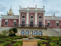 Palazzo Portogallo di Estoi Immagini Stock