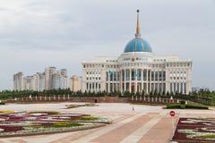 Palazzo presidenziale a Astana fotografia stock libera da diritti