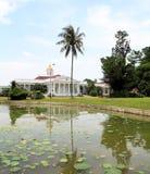 Palazzo presidenziale in Bogor, Indonesia immagine stock libera da diritti