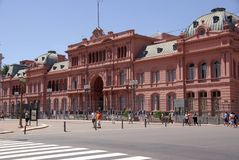 Palazzo presidenziale a Buenos Aires, Argentina fotografia stock