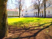 Palazzo presidenziale della Lituania, Vilnius Fotografie Stock