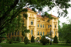 Palazzo presidenziale, Hanoi Fotografia Stock Libera da Diritti