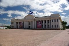 Palazzo presidenziale a Managua, Nicaragua immagine stock