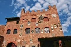 Palazzo Pretorio Photo stock