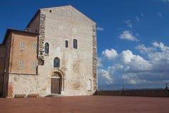 Palazzo Pretorio  in Gubbio (Umbria, Italy) Royalty Free Stock Image