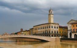 Palazzo Pretorio à Pise, Toscane, Italie Photo stock