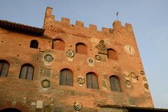 Palazzo Pretorio Royalty Free Stock Photos