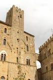 Palazzo Pretorio (Volterra, Italy) Royalty Free Stock Photos