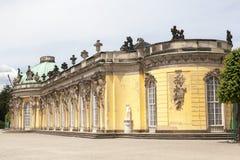 Palazzo prussiano di Sanssouci Immagini Stock Libere da Diritti
