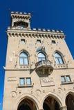 The Palazzo Pubblicco in San Marino. The Republic of San Marino Stock Image