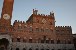 Palazzo Pubblico, Аркада del Campo, ориентир ориентир, здание, историческое место, городок Стоковое Фото