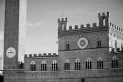 Palazzo Pubblico e Torre del Mangia Royalty Free Stock Image