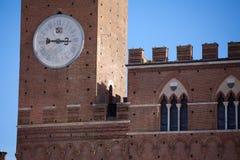 Palazzo Pubblico e Torre del Mangia Royalty Free Stock Photography