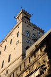Palazzo Pubblico em San Marino Imagens de Stock Royalty Free