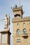 Palazzo Pubblico em San Marino Foto de Stock Royalty Free