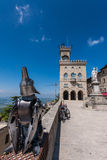 Palazzo Pubblico en San Marino Foto de archivo libre de regalías