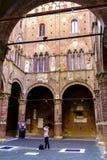 Palazzo Pubblico en Siena Italy Fotografía de archivo libre de regalías