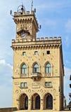 Palazzo Pubblico, São Marino Fotos de Stock Royalty Free