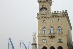 Palazzo pubblico - San Marino fotografia stock libera da diritti