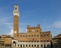 Palazzo Pubblico. Siena, Italy Stock Photography